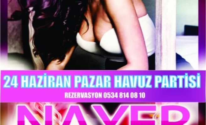 Aqualand'da Nayer'li havuz partisi
